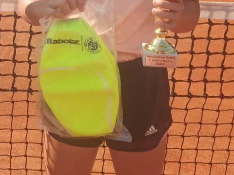 Sofi Kubíková vybojovala svůj první turnajový titul
